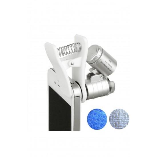 Pazariz Cep Telefonu Için Mini Mikroskop 60x Zoom
