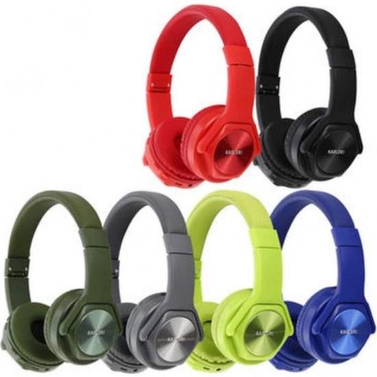 Pazariz Karler Bass 004 Bluetooth Kulaklık + Speaker YEŞİL