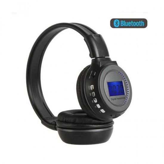 Pazariz BS-N65 Kulaklık LCD Ekran Ile TF MP3 Çalar Kablosuz kulaklık