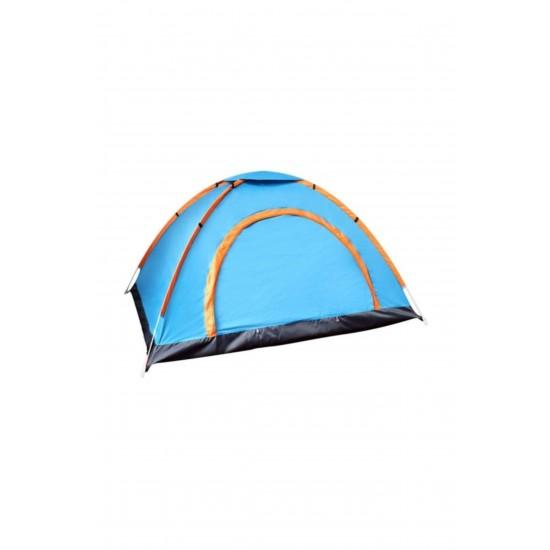 Pazariz 10 Kişilik Kaliteli Kamp Çadırı 300x300x180 Cm Çantalı Sineklik