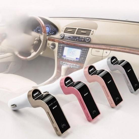 Pazariz Car G-7 Bluetooth Araç FM Transmitter Usb Girişli