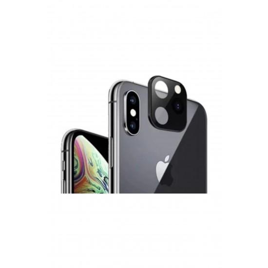 Pazariz Iphone X-xs - Xr Telefonu 11 Pro Max Değiştiren Arka Kamera Lens
