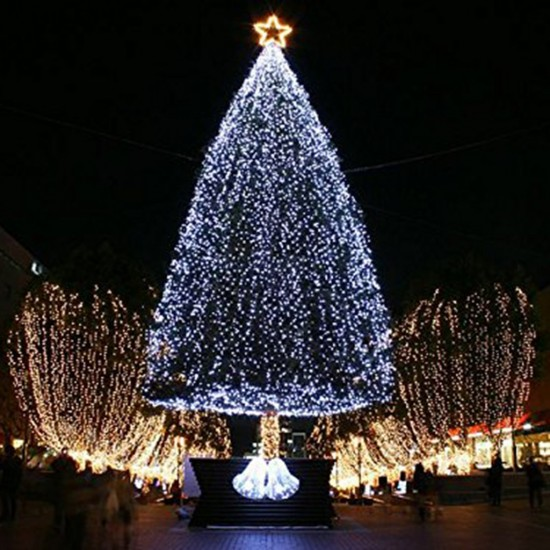 Pazariz 100 Ledli Beyaz Yılbaşı Ağacı Işığı Led Ampül