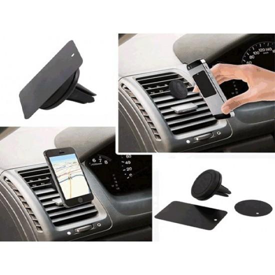 Pazariz Araç İçi Telefon Tutucu Havalandırma Mıknatıslı Telefon Tu
