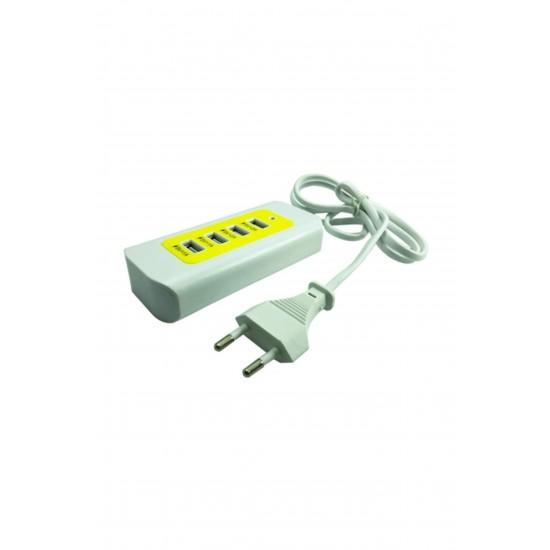 Pazariz 4 PORT Switch 2.0 Usb Çoğaltıcı Çoklayıcı 480 Mbps 4 in 1