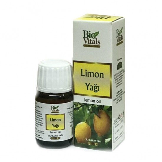 Bio Vitals Limon Cilt Bakım Yağı 20ml