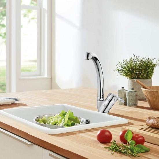 Grow Premium Kalite Mix Kuğu Mutfak Evye Bataryası Seti Sıcak Soğuk Girişli