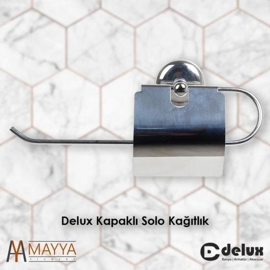 Delux Metal Kapaklı Solo Kağıtlık