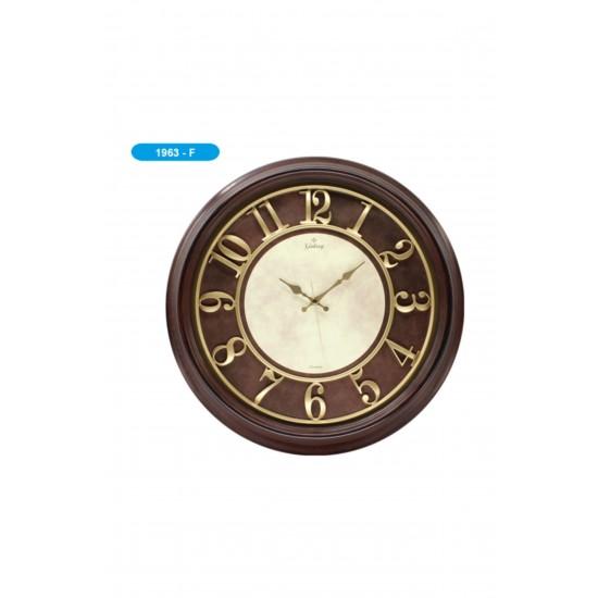 Pazariz 1963-f Premium Kabartma Rakamlı Duvar Saati